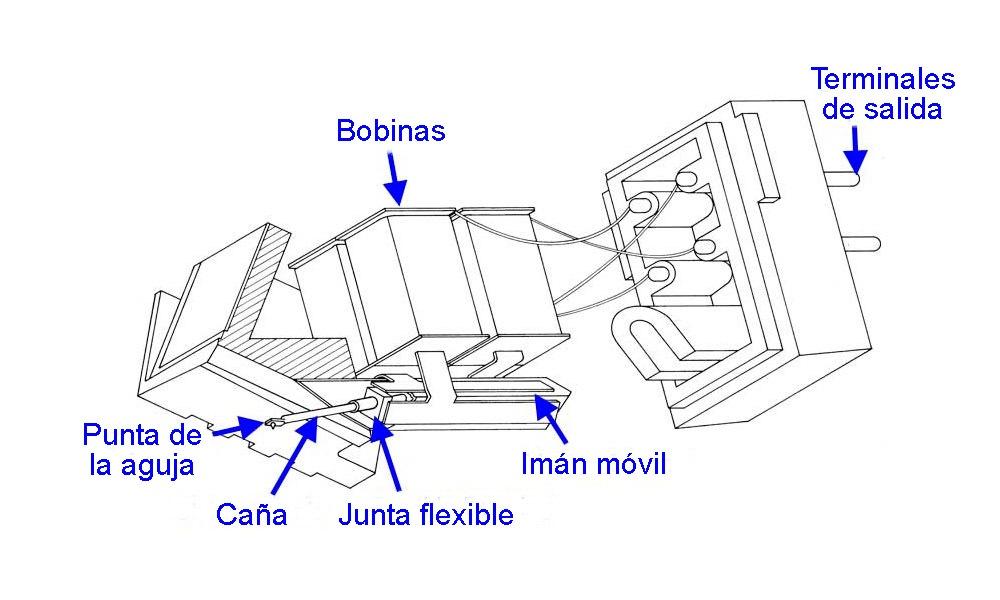 partes de una capsula fonografica