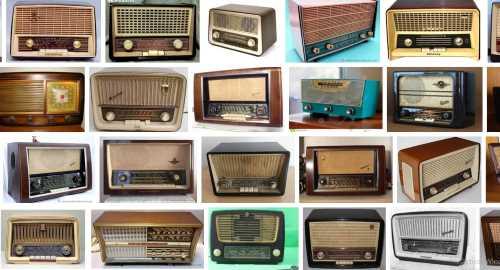 tocadiscos años 50 radio